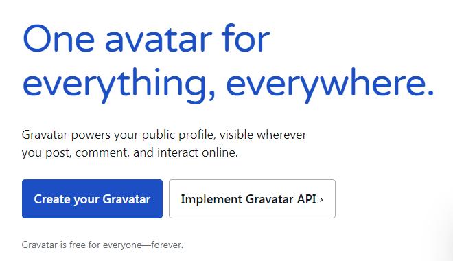 Updating your WordPress Avatar - Step 1